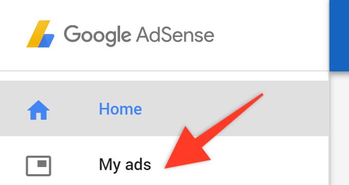 Google Adsense My Ads